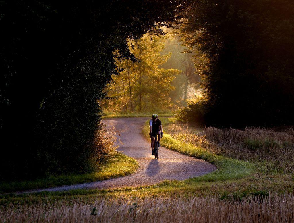 bicykel, cesta, šport, cyklista,