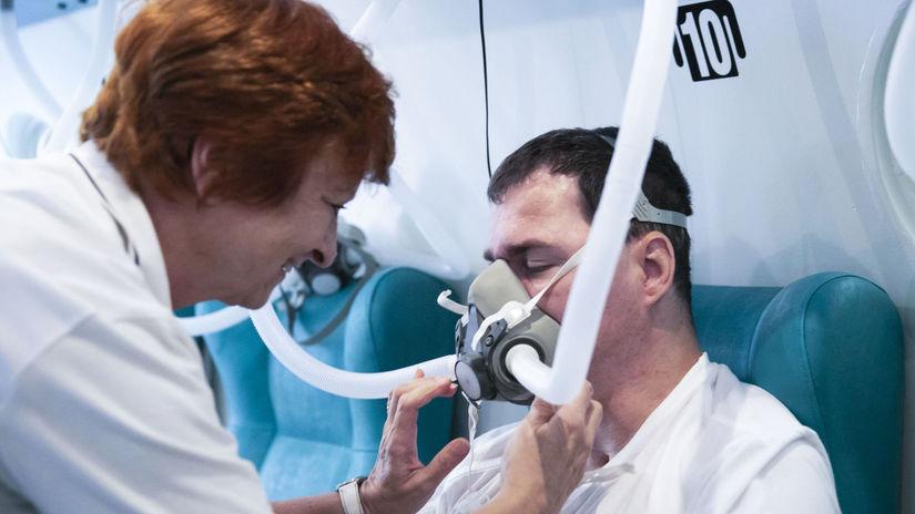 hyperbarická komora, oxygenoterapia, Adeli,...