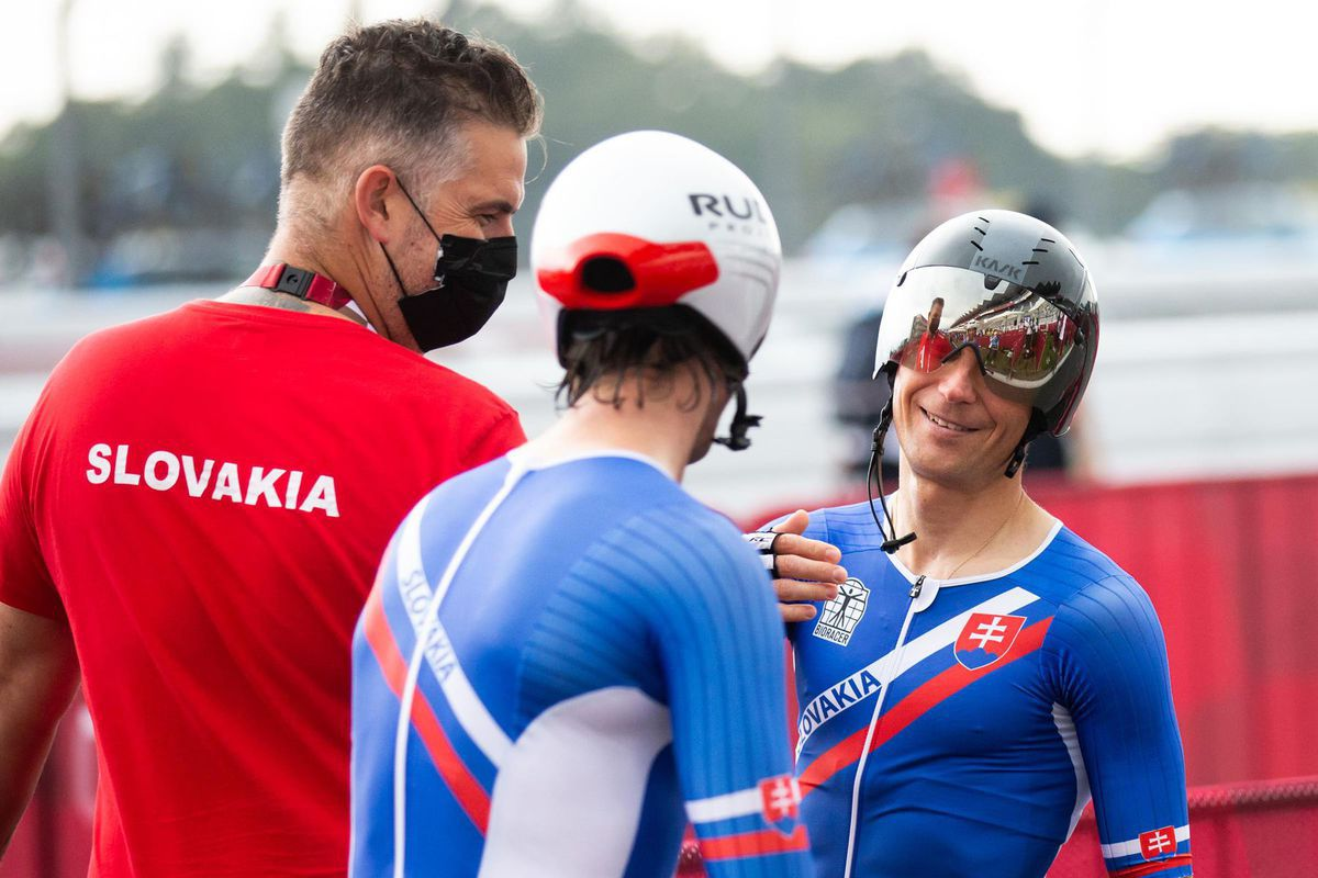 Patrik Kuril (à droite) et Jozef Metelka après un doublé...