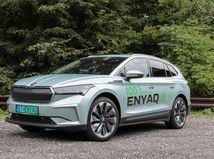 Škoda Enyaq iV 80 First Edition - test 2021