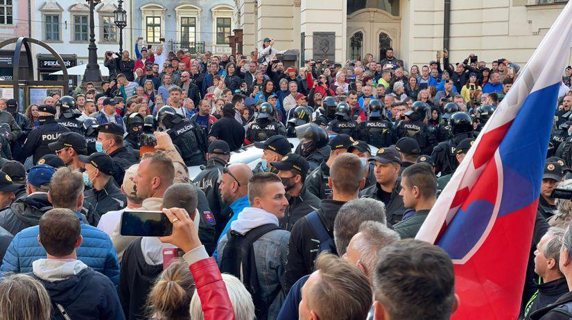 Košice / Protest / Demonštrácia /