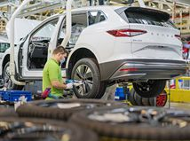 Škoda Enyaq iV - výroba 2021