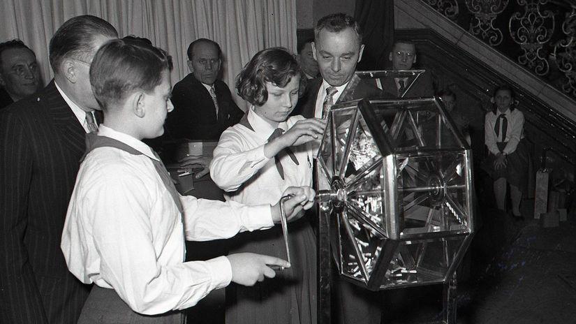 Československá štátna lotéria, žrebovanie,...