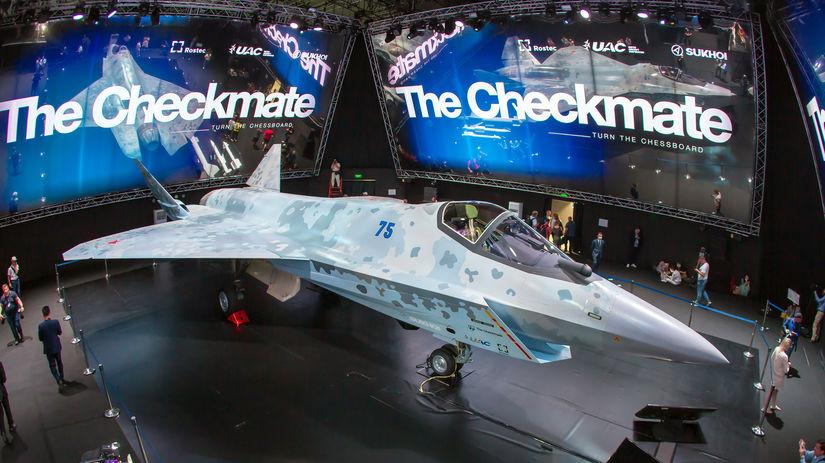 neviditeľná stíhačka Su-75, Checkmate