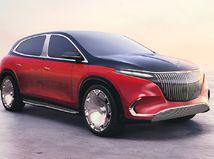 Mercedes-Maybach EQS SUV Concept - 2021