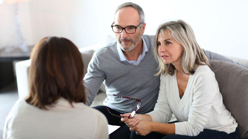rodičia, manželia, seniori, rozhovor