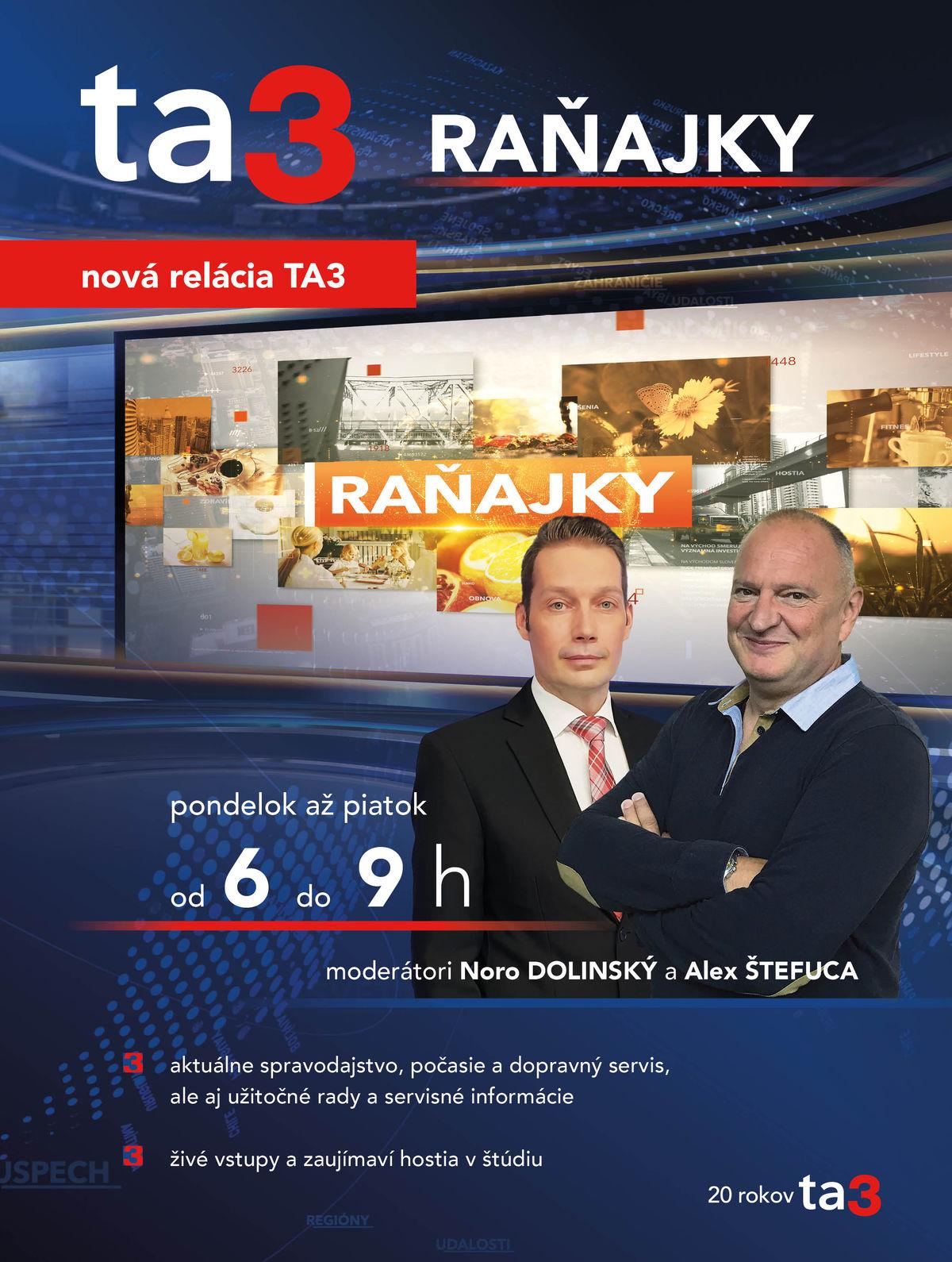 Vizual Ranajky TA3 nepoužívať