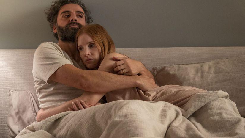 scény z manželského života, oscar issac,...