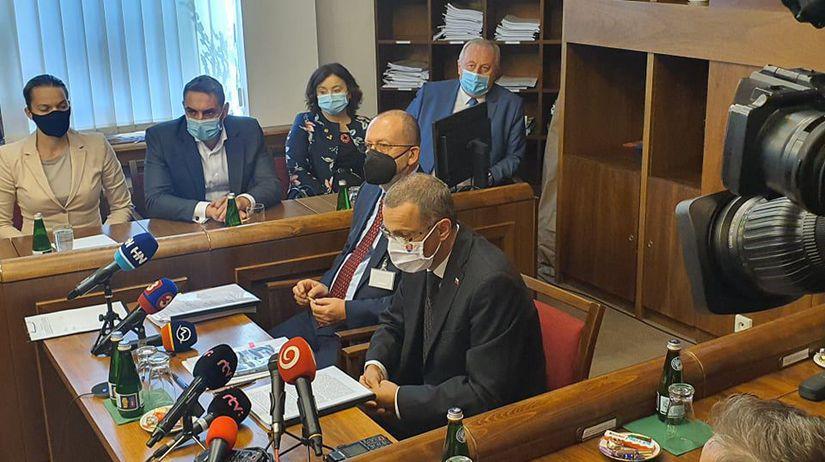 Maroš Žilinka v parlamente