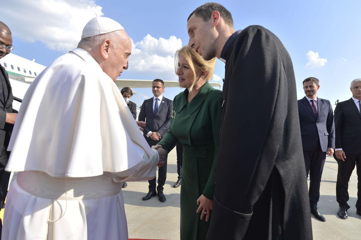 pápež, čaputová
