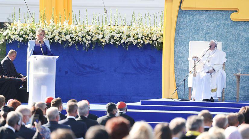 pápež františek čaputová