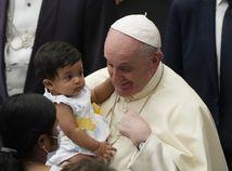 pápež František, dieťa