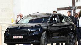 Škoda - pápež na Slovensku