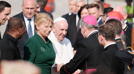 navšreva Pápeža Františka na Slovensku