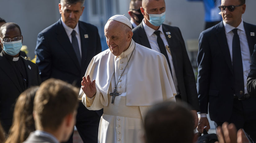 SR pápež František návšteva21 BAX