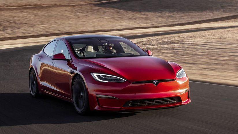 Tesla S Plaid - rekord na Nurburgringu 2021