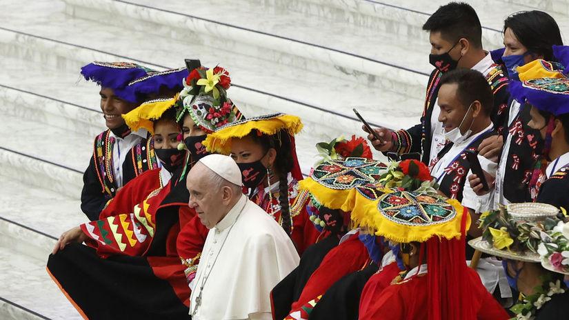 Vatikán, pápež František, Peruánci, pútnici