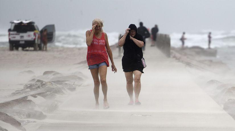 búrka tropická hurikán usa