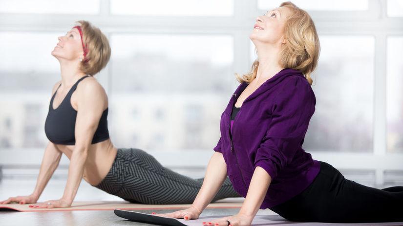 strečing, ženy, staršie ženy, cvičenie, pohyb,...