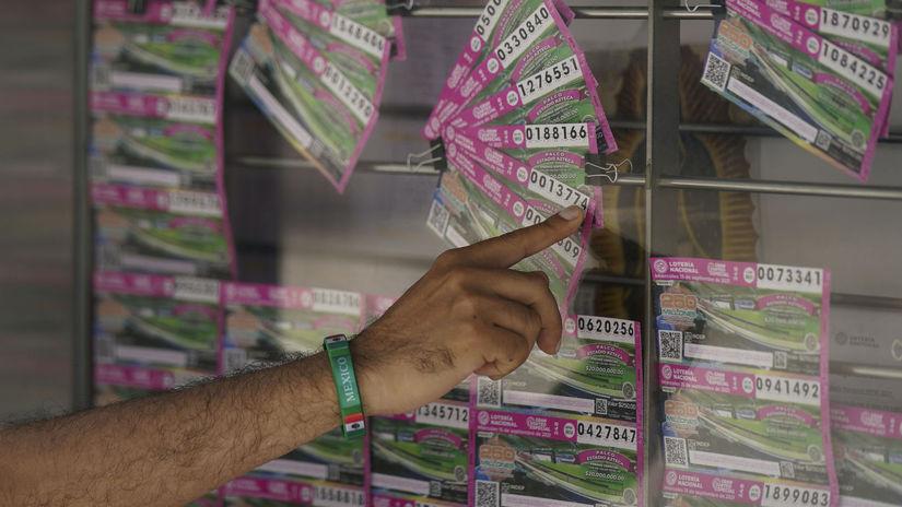 Mexiko, lotéria, narkobaróni