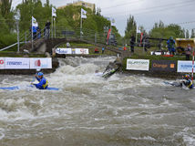 vodný slalom
