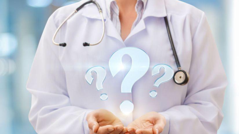 doktorka, otázniky, zdravotníctvo