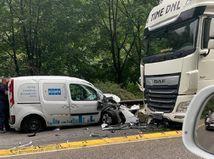 strečno, nehoda