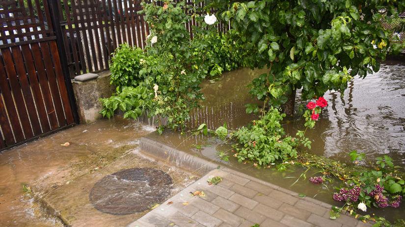 odvodňovanie záhrady