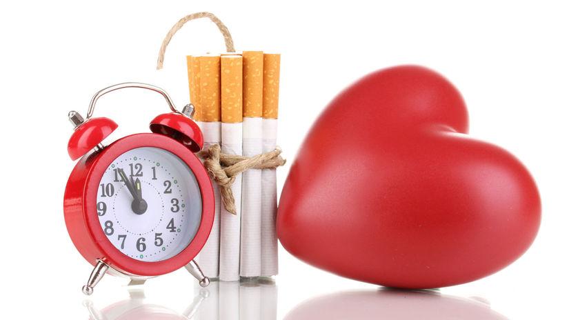 cigarety, fajčenie, srdce, nebezpečenstvo