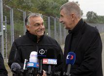 Maďarsko ČR Orbán Babiš hranice Srbsko Afganci