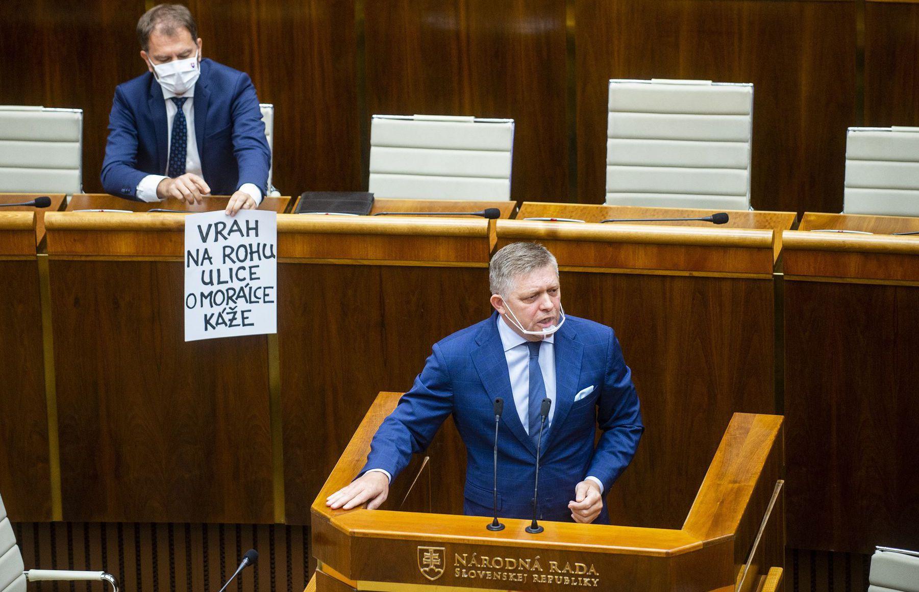 Igor Matovič / Robert Fico /