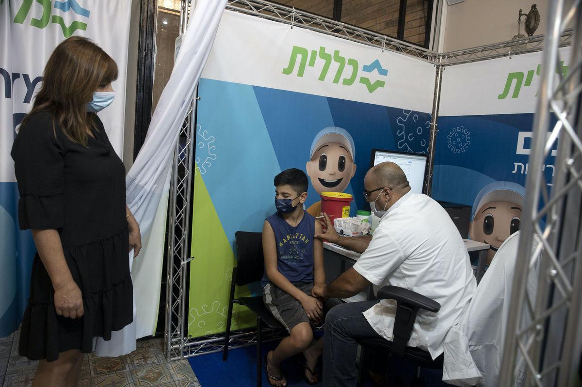 Izrael, valcína, očkovanie