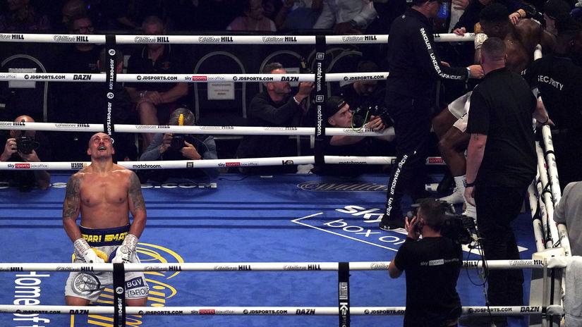 Britain Boxing Joshua Usyk