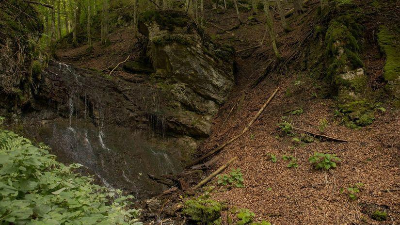 Veľká Fatra, vodopád