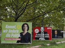 voľby, Nemecko, Baerbocková, Laschet, Scholz
