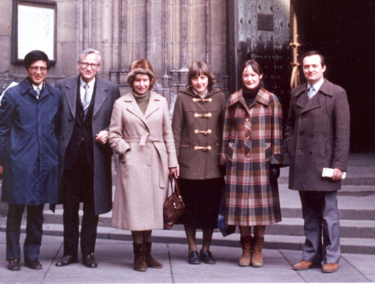 Angela Merkelová, Rudolf Zahradník, Milena...
