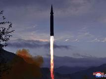 kórea strela raketa