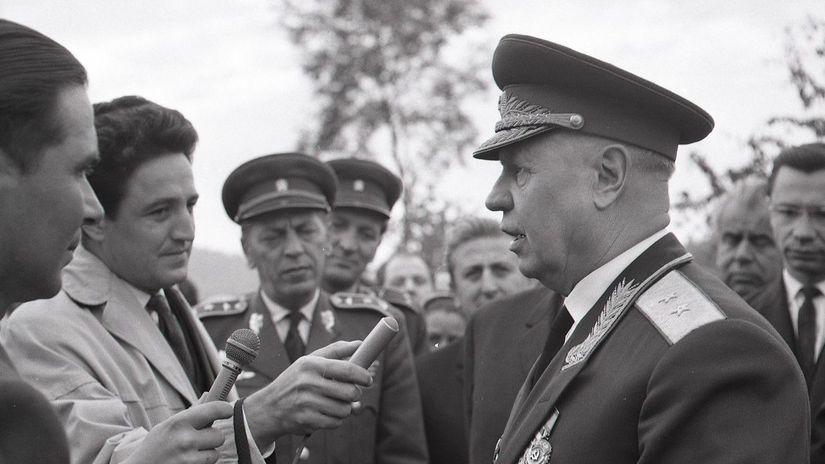 Kalinov, generálmajor Andrej Vedenin, oslobodenie