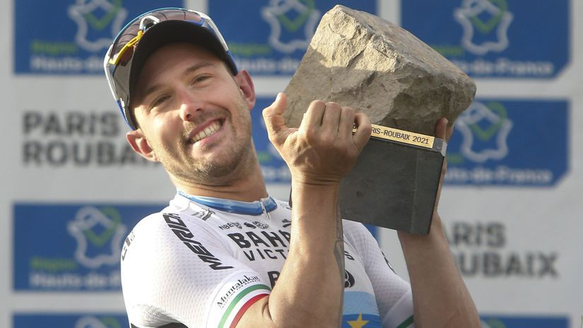 Francúzsko Cyklistika Paríž Roubaix víťaz...