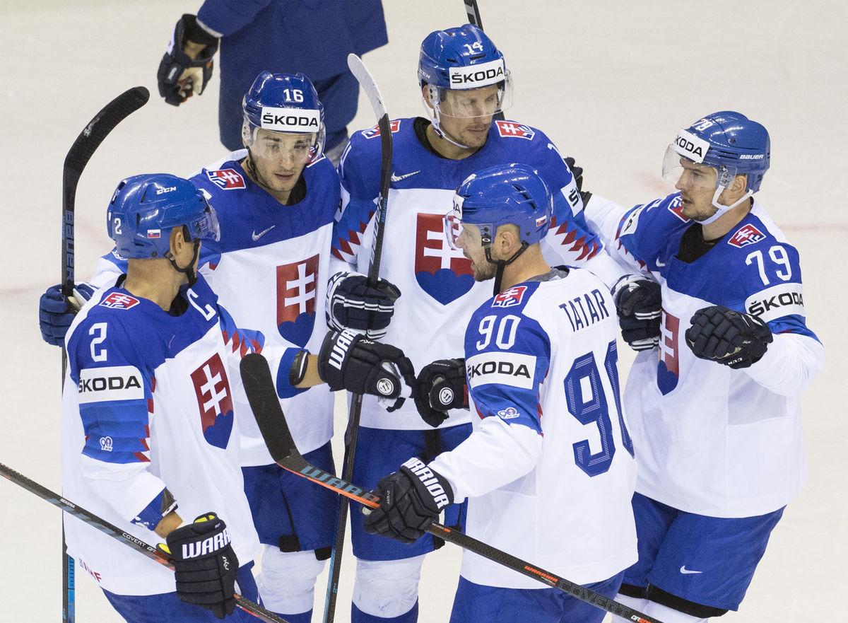 SR Košice MS2019 Hokej A Slovensko