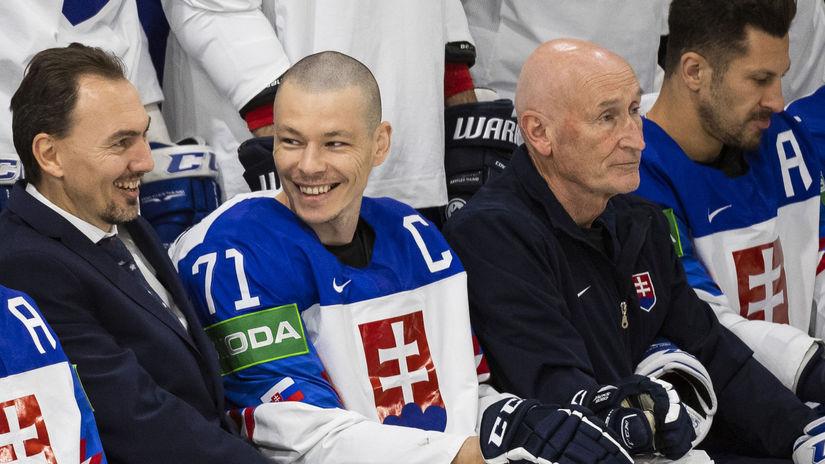 Lotyšsko Riga MS2021 Hokej A Slovensko médiá