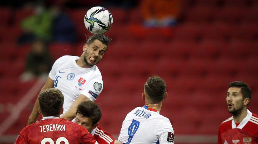 Rusko hancko futbal kval. MS 2022 H Slovensko