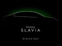 Škoda Slavia - silueta 2021