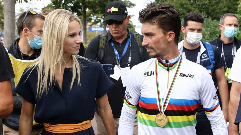 Alaphilippe a Marion Rousseová