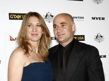 Andre Agassi a Steffi Graf