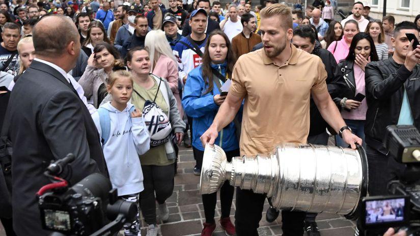 SR Hokej NHL Černák Košice Stanleyho pohár
