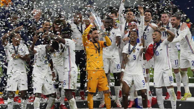 Taliansko šport Futbal LN finále Francúzsko...