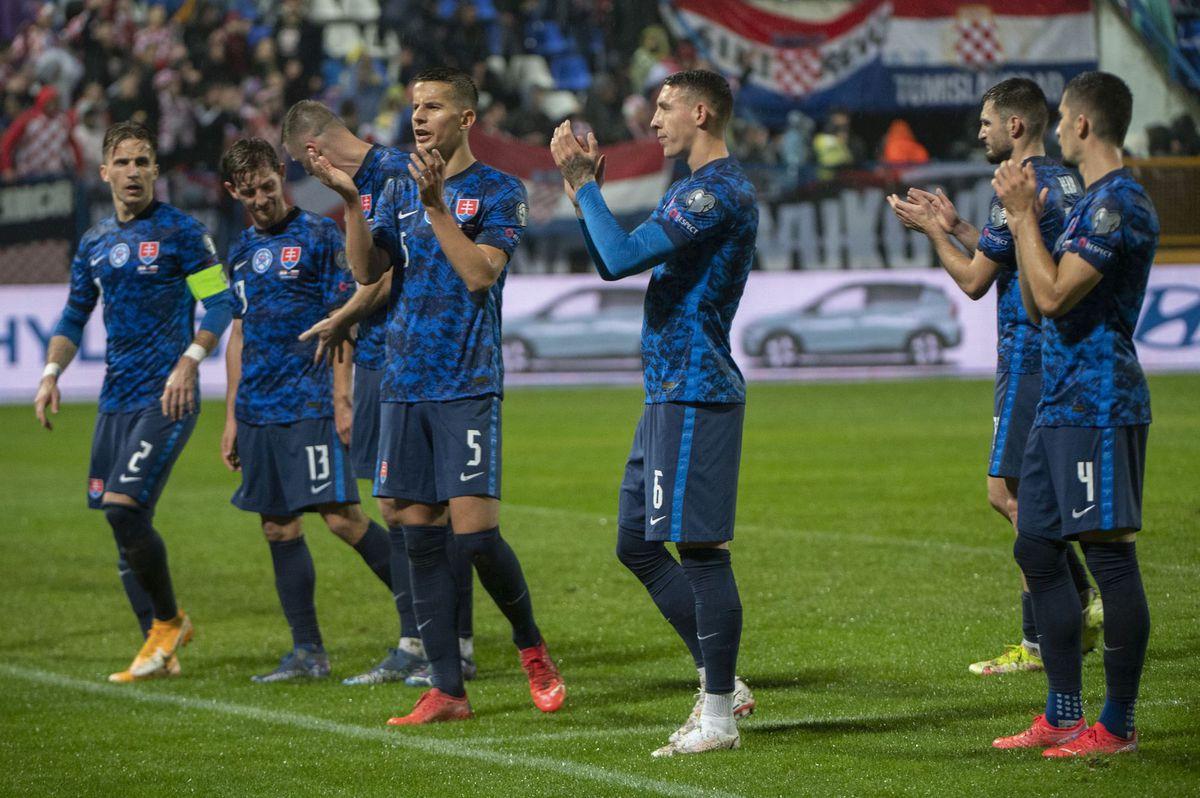 Chorvátsko SR futbal kvalifikácia MS 2022...