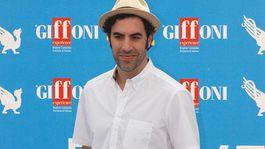 Actor Sacha Baron Cohen in a 2013 shot.