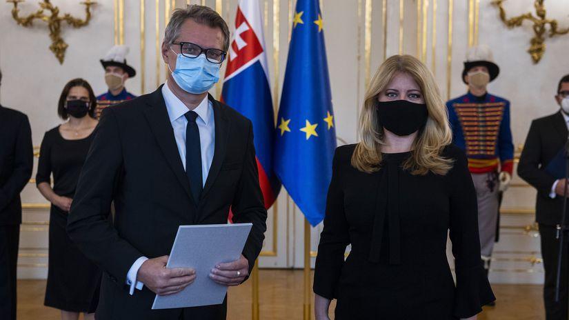 Marián Trenčan / Zuzana Čaputová /